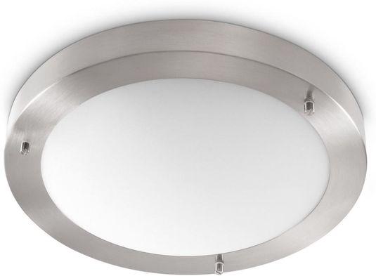 Plafoniere Deckenleuchte : Deckenlampe messing gebürstet glas cm plafoniere milchglas
